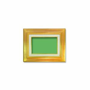 【油額】油絵額・キャンバス額・金の油絵額・銀の油絵額 ■7711 F0号(180×140mm)「ゴールド」