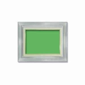 【油額】油絵額・キャンバス額・金の油絵額・銀の油絵額 ■7711 F4号(333×242mm)「シルバー」