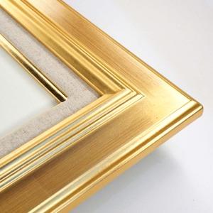 【油額】油絵額・キャンバス額・金の油絵額・銀の油絵額 ■7711 F6号(410×318mm)「ゴールド」