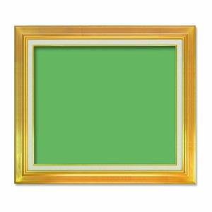 【油額】油絵額・キャンバス額・金の油絵額・銀の油絵額 ■7711 F12号(606×500mm)「ゴールド」