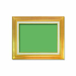 【油額】油絵額・キャンバス額・金の油絵額・銀の油絵額 ■P6号(410×273mm)「ゴールド」