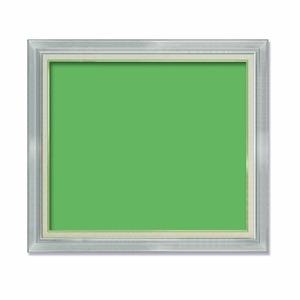 【油額】油絵額・キャンバス額・金の油絵額・銀の油絵額 ■M30号(910×606mm)「シルバー」