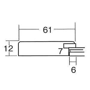 【色紙額】幅が広い色紙額 ■白・黒・金・銀色紙額(8×9)275×244mm(ホワイト)
