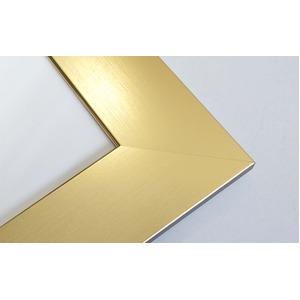 【色紙額】幅が広い色紙額 ■白・黒・金・銀色紙額(8×9)275×244mm(ゴールド)