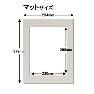 カラー遺影額(太い枠) ■仏事用額・葬儀額(遺影額) (ブラック)