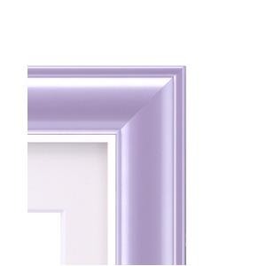 カラー遺影額(太い枠) ■仏事用額・葬儀額(遺影額) (バイオレット)