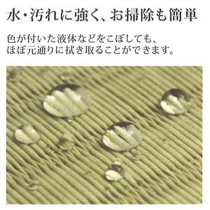 【座布団】日本製・職人作り・日焼けに強く(変色しない)カビやダニも発生しない ■畳み座布団 紺瑠璃(konruri)