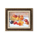 ダークブラウンアンティーク額 【額装品】世界の名画9573 F6 ルノワール「南仏の果実」