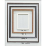 【仮縁油絵額】高級仮縁・キャンバス額 ■木製仮縁F10(530×455mm)サイズ  ホワイト
