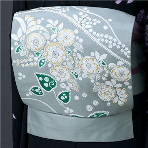 正絹染名古屋帯(仕立上り) 辻が花