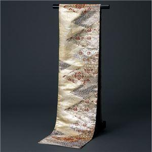 桐生織袋帯(仕立上り) 更紗
