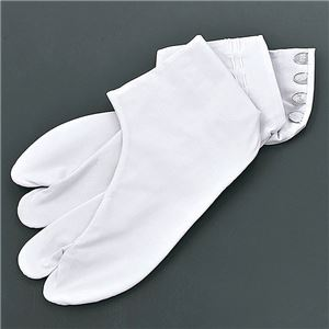 のびる綿キャラコ福助足袋 白 24.5cm