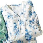 2重ガーゼの湯上りパジャマ 【オフホワイト LL : LL】