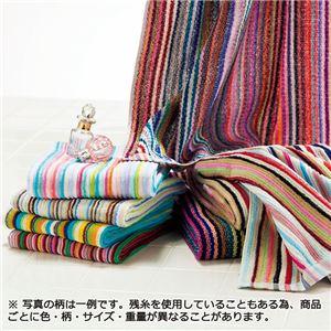 今治産カラフルタオルセット 【1: フェイスタオル 10枚組】 - 拡大画像