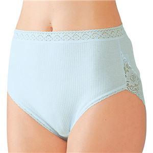 日本製肌ざわりいい綿100%安心ショーツ3色組 【L : L】 h02
