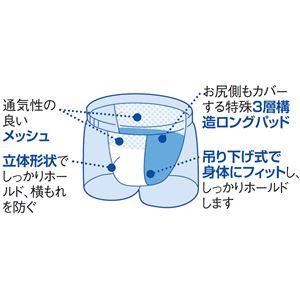 ロングガード・トランクス3色組 【L : L】