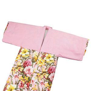 綿フラノ素材かいまき専用衿カバー2枚組 - 拡大画像