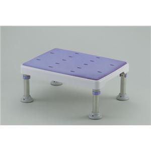 やわらか浴槽台GR 4段階高さ調節付き(2) 【ミドルタイプ】 脱着式天板/天板シート (入浴用品/介護用品) - 拡大画像