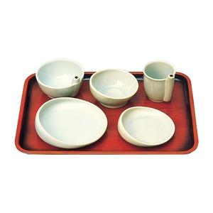有月陶器食事用具らくらく食器5点セット96020