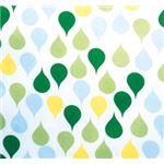 (まとめ)竹虎 食事用エプロン ポケット付ソフラピレンエプロンしずく(3)グリーン 2526 102252【×3セット】
