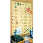 (まとめ)宇都宮製作 自助具薬関連 週間投薬カレンダー (1)1週間1日4回用 8309【×2セット】