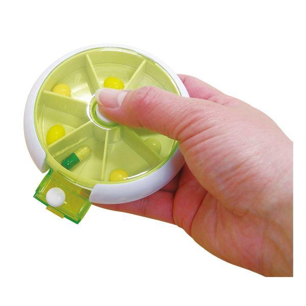 【訳あり・在庫処分】 (まとめ)幸和製作所 自助具薬関連 テイコブ薬入れ 携帯用 MC02【×10セット】
