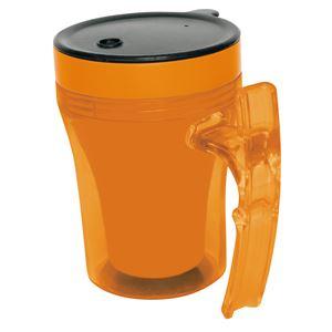 (まとめ)幸和製作所 食事用具 テイコブマグカップ オレンジ 9993 C02【×5セット】