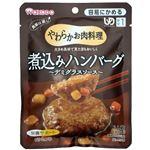 (まとめ)和光堂 介護食 ヤワラカお肉料理(2)煮込ハンバーグデミグラスソース 1袋 HA41【×30セット】