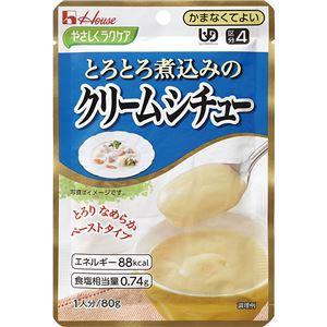 (まとめ)ハウス食品 介護食 やさしくラクケア (3)とろとろ煮込のクリームシチュー1袋 85196【×50セット】