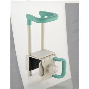 リッチェル 浴槽手すり 浴そう手すりコンパクト グリーン C45-130 49736