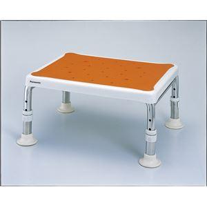 パナソニックエイジフリーライフテック 浴槽台 バススツール軽量ワイド(3)2025 オレンジ PN-L10925D
