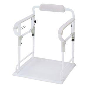 【訳あり・在庫処分】アロン化成 トイレ用手すり ポータブルトイレ用 フレーム ささえ 533-070
