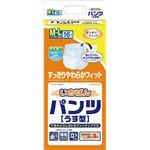 カミ商事 パンツ型 いちばんパンツ (4)うす型 M〜L(16枚×4袋) ケース 477081