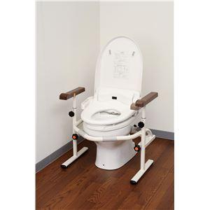 パナソニックエイジフリーライフテック トイレ用手すり 洋式トイレ用スライド手すり(ステンレス) PN-L53001