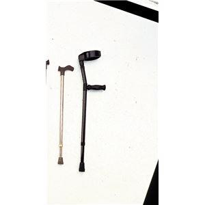 ミキ ロフストランドクラッチ アルミ製杖ロフスト MRA-01311 - 拡大画像