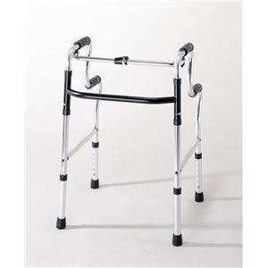アクションジャパン 歩行器 折りたたみ式立ち上がり歩行器 (1)標準 C2021W