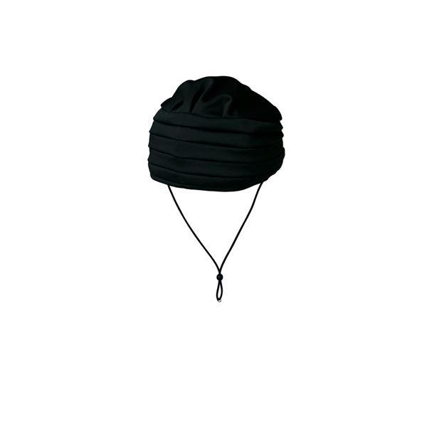 キヨタ 保護帽 おでかけヘッドガードEタイプ(ターバンタイプ)M ブラック KM-1000E【×2セット】f00