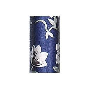 フジホーム ステッキ(折りたたみ) ステッキベーシック折畳S (2)花柄青 3390 WB3723