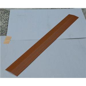 シクロケア室内用スロープバリアフリーレール(4)200×16×0.25ダークオーク4103