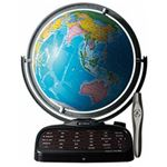 しゃべる地球儀「パーフェクトグローブ 」 ドウシシャ PR18