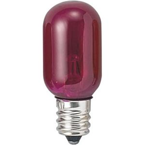 (まとめ)ナツメ球電球T20E125WピンクヤザワT201205CP【×60セット】
