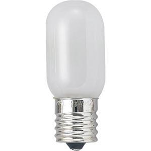 (まとめ)ナツメ球電球E1710WホワイトヤザワT201710W【×30セット】