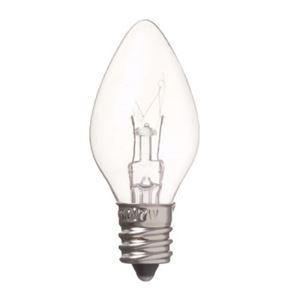 (まとめ)ローソク球電球C7E127WクリアヤザワC71207C【×40セット】