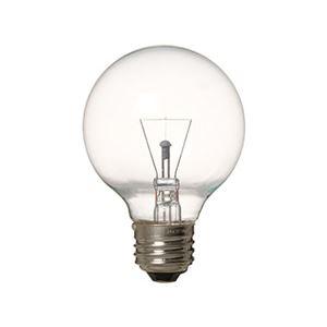 (まとめ)長寿命ボール電球G70クリア60W形E26ヤザワGC100110V57W70L【×10セット】