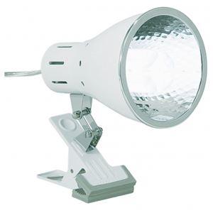 クリップライト白昼光色100W形1灯ヤザワY07CLE100X01WH