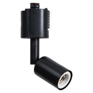 (まとめ)スポットライトショート黒E17電球なしヤザワY07LCX100X01BK【×5セット】