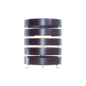 木製スタンドライト茶EFG60W形1灯ヤザワY07SDE60X01DW