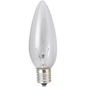 (まとめ)シャンデリア球電球C32E1225WクリアヤザワC321225C【×40セット】