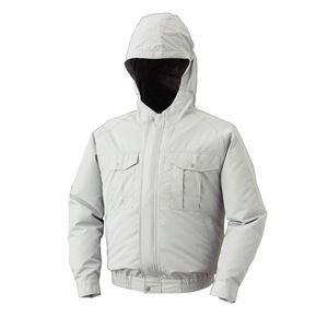 空調服 フード付き ポリエステル製長袖ワークブルゾン