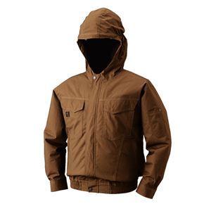 空調服 フード付綿薄手長袖ブルゾン